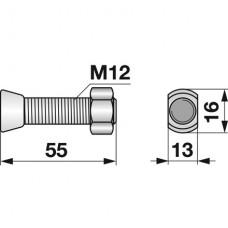 VIJAK LEMEŽA M12x55 12.9 REGENT