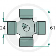 KRIŽ KARDANA 23,8x61,3