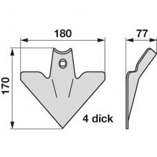 MOTIČICA OKOPALNIKA 170x180x4mm