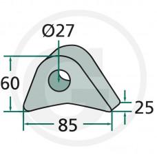 UŠESA HITREGA PRILKOPA FI=27