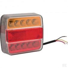 SVETILKA STOP LED L+D 12V  IP67 18 LEDIC