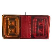 SVETILKA STOP LED 12V 24V 16 LEDIC L+D