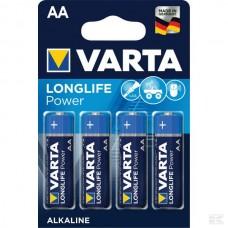 BATERIJA  AA 1,5V LR6 (4x) - VARTA