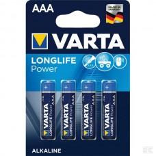 BATERIJA  AAA 1,5V LR03 (4x) - VARTA