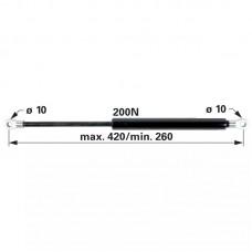 AMORTIZER KABINE ZETOR L=420 F=200N