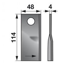 NOŽ KOSILNICE CLAAS L+D L-114mm FI=19