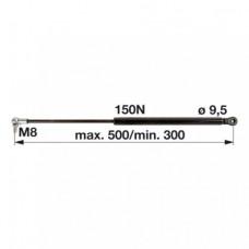 AMORTIZER KABINE L=495 JD 1950
