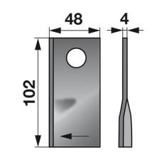 NOŽ KOSILNICE SIP DISK ST L+D L102 FI=19