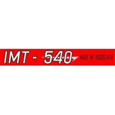 NALEPKA IMT 540