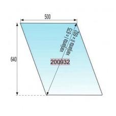 STEKLO KABINE VRATA ZGORAJ ŠTORE D=692