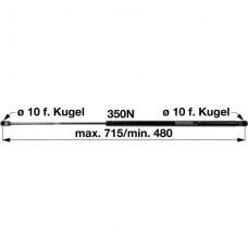 AMORTIZER KABINE SAME L-700mm F-350N SLH
