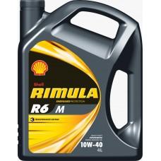 OLJE MOTORNO RIMULA R6 M 10W-40 4L