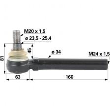 KONČNIK VOLANA JD M 24x1,5 K-24