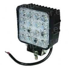 ŽAROMET DELOVNI LED 105x105 3300Lm 48W