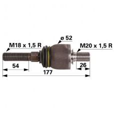 ZGLOB VOLANA AKSIALNI M18x1.5 / M20x1.5